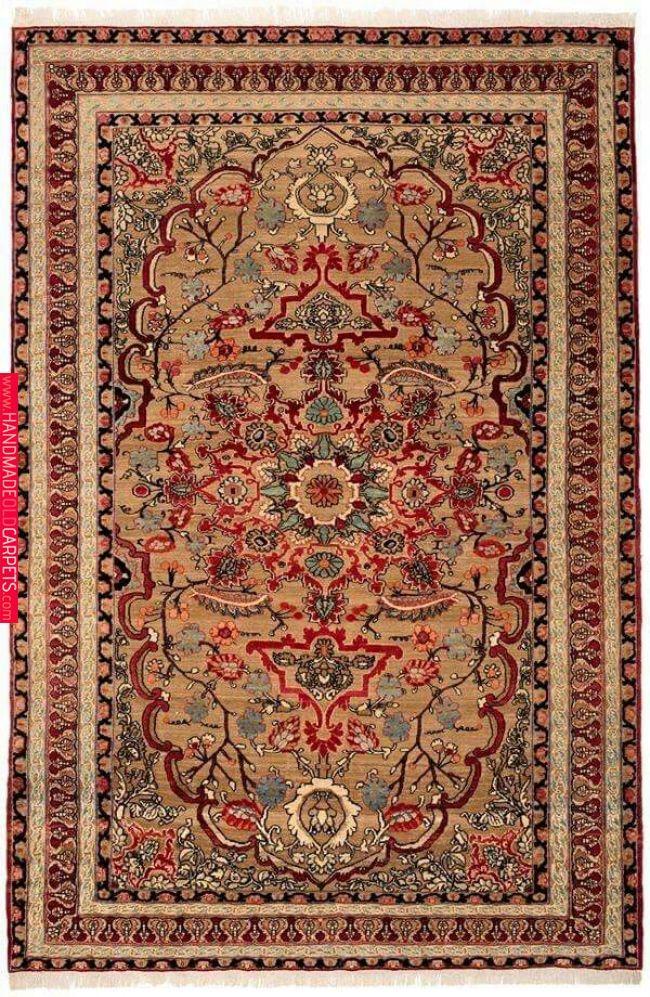Persian Kerman Rug Carpet
