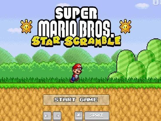 Super Mariobros Star Scramble Mario Bros Super Mario Mario