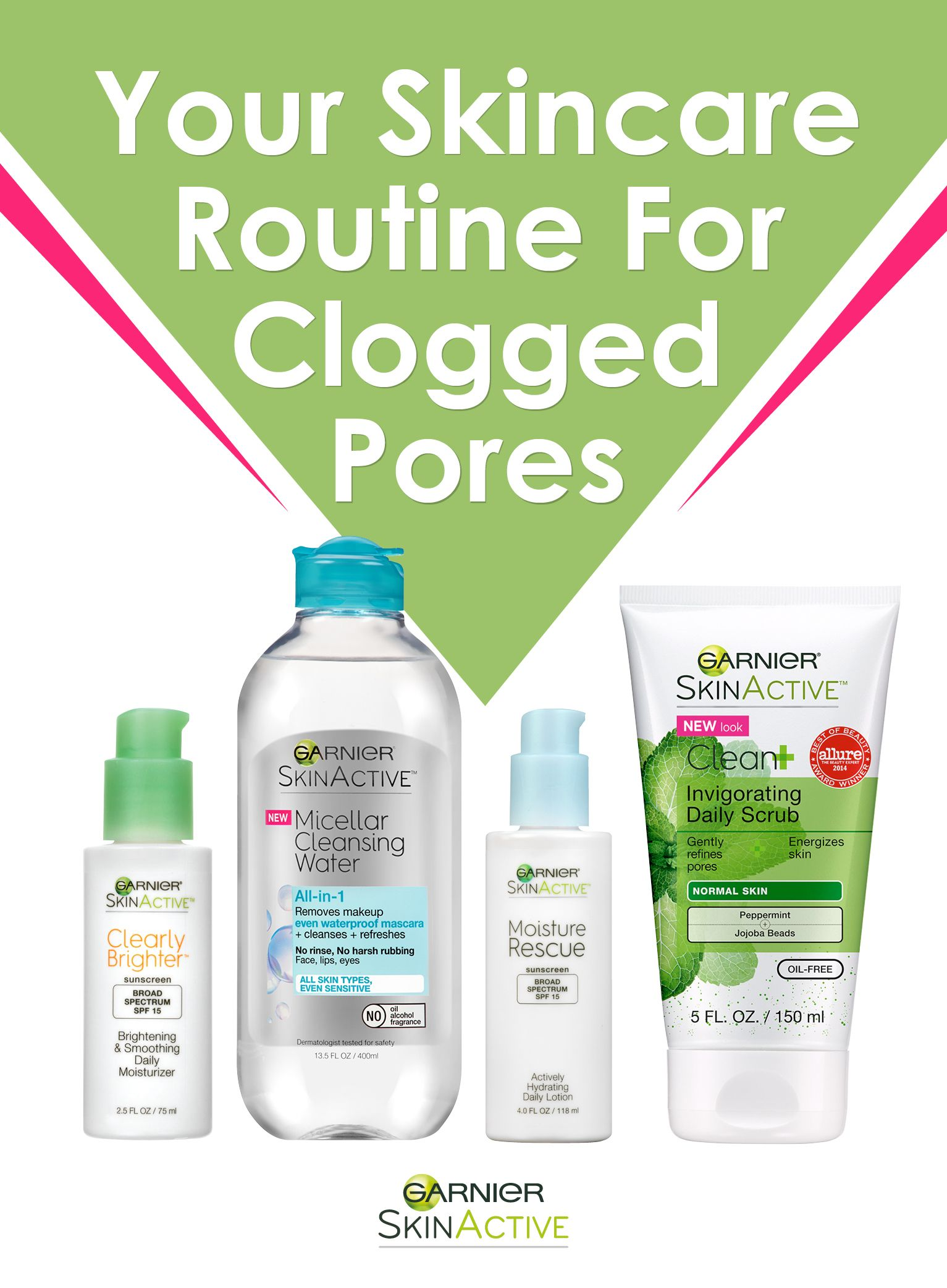 Clogged pores are the WORST! If you have oily or