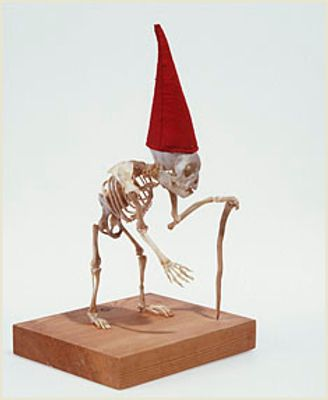 Skelegnome @Wendy Lebs !! So amazing!! My Dark Side Pinterest - martha stewart outdoor halloween decorations