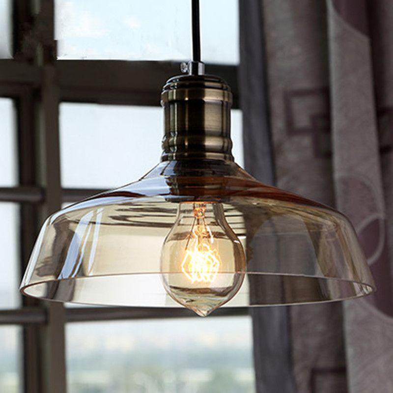 Find More Pendant Lights Information About Vintage Light Glass Lamp Hanging Home Lighting