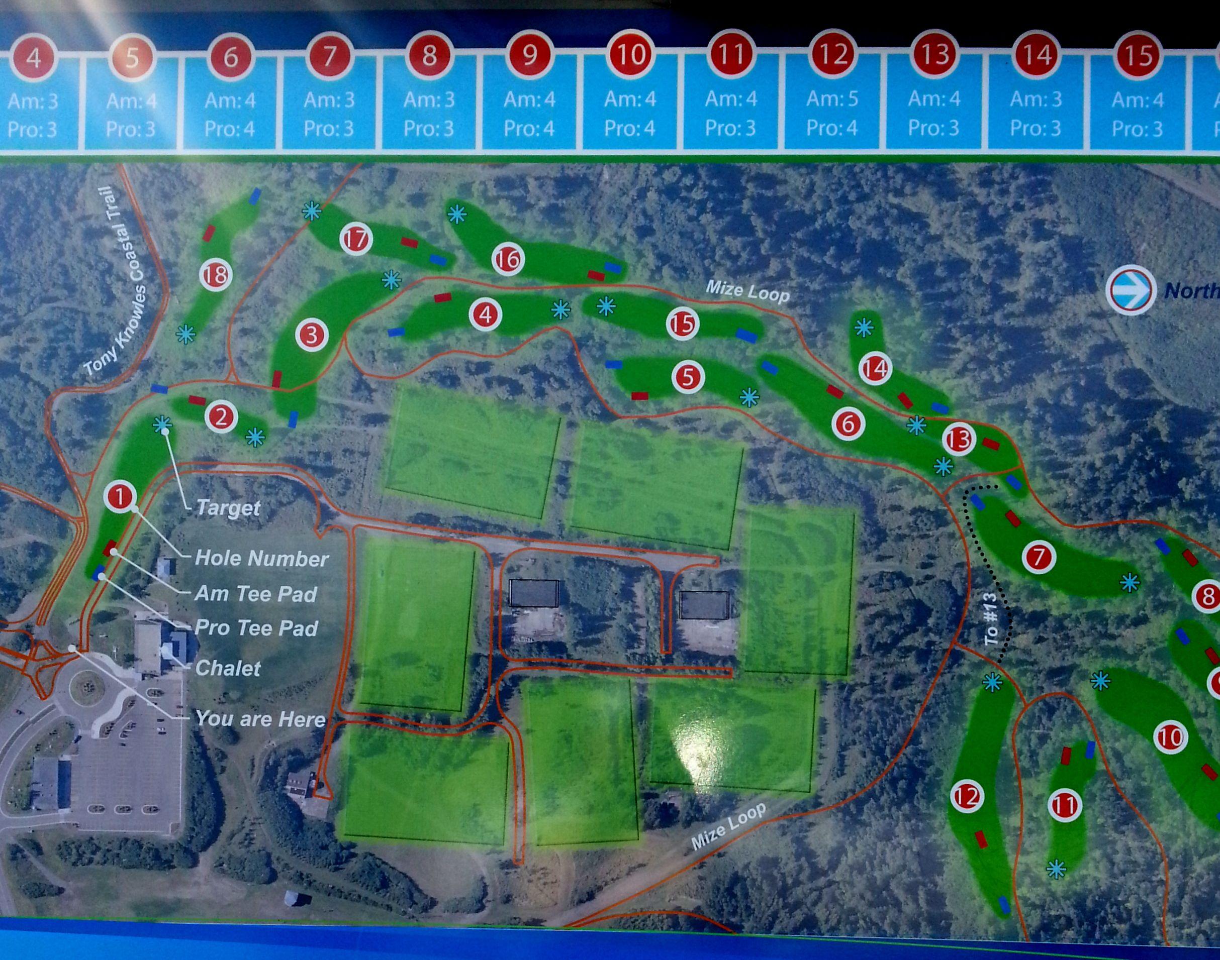 Disc Golf Course in Anchorage Alaska Disc