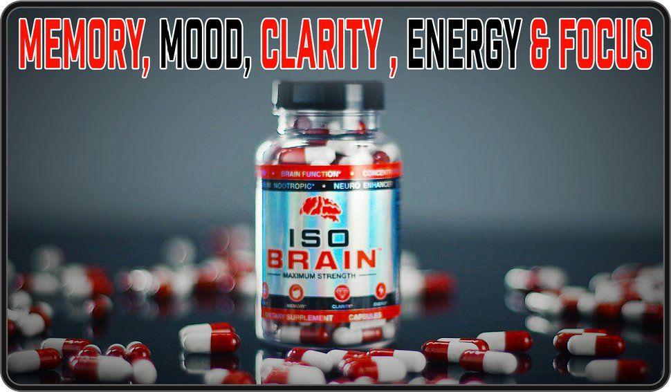 Amazon com: Iso Brain Nootropic Brain Supplement (120
