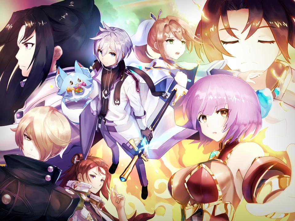 Goodbye 2018! 2019! EpicSeven Anime, Anime