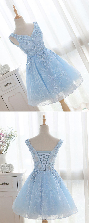 4ddfd79d6b6 2018 spring short V neckline bridesmaid dress