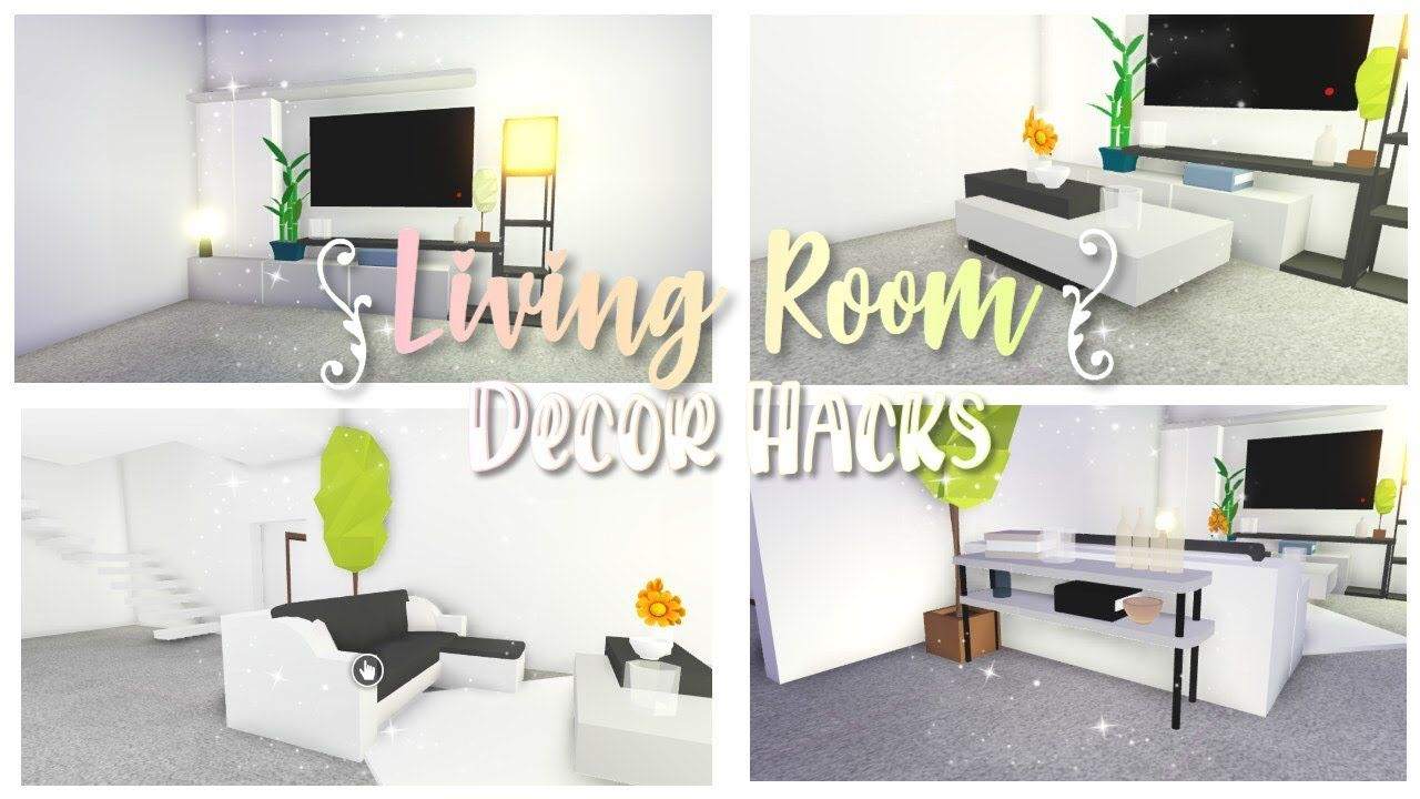 Living Room Decor Hacks Roblox Adopt Me Youtube Living Room Decor Tips Baby Room Themes Cute Room Ideas