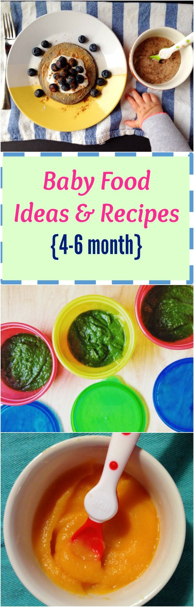 Baby Food 46 months Baby food recipes, Baby first foods