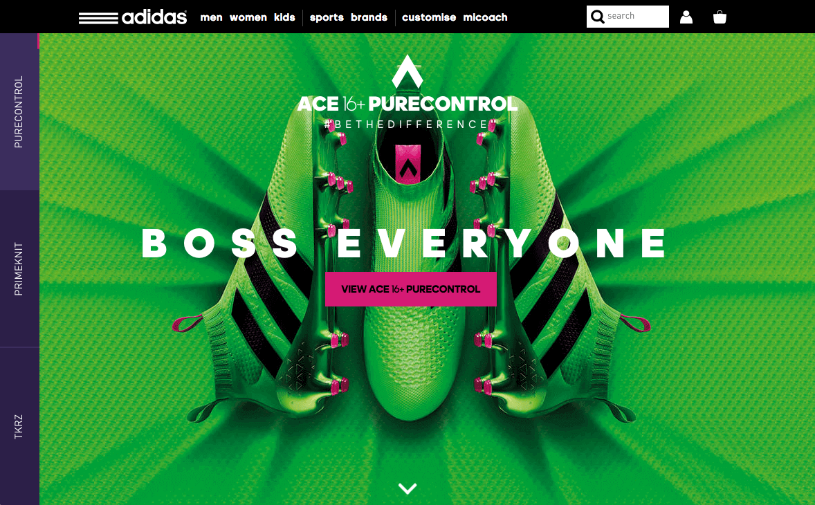 adidas laceless football FootballACE 16 bootsWeb I7gfvYb6ym