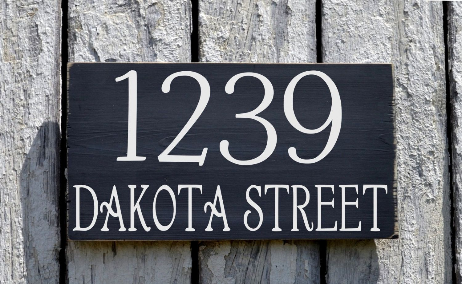 Address Plaque Large House Numbers Sign Custom Personalized Outdoor Wood  Home Number Signage Street Name Hanging