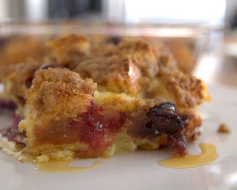 Baked blueberry french toast blueberry french toast blueberry baked blueberry french toast ccuart Gallery