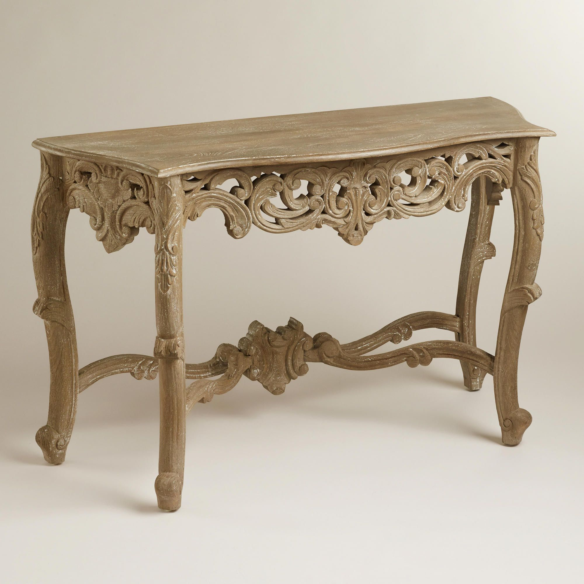Home furniture love wooden victorian console table world home furniture love wooden victorian console table world market 399 geotapseo Images