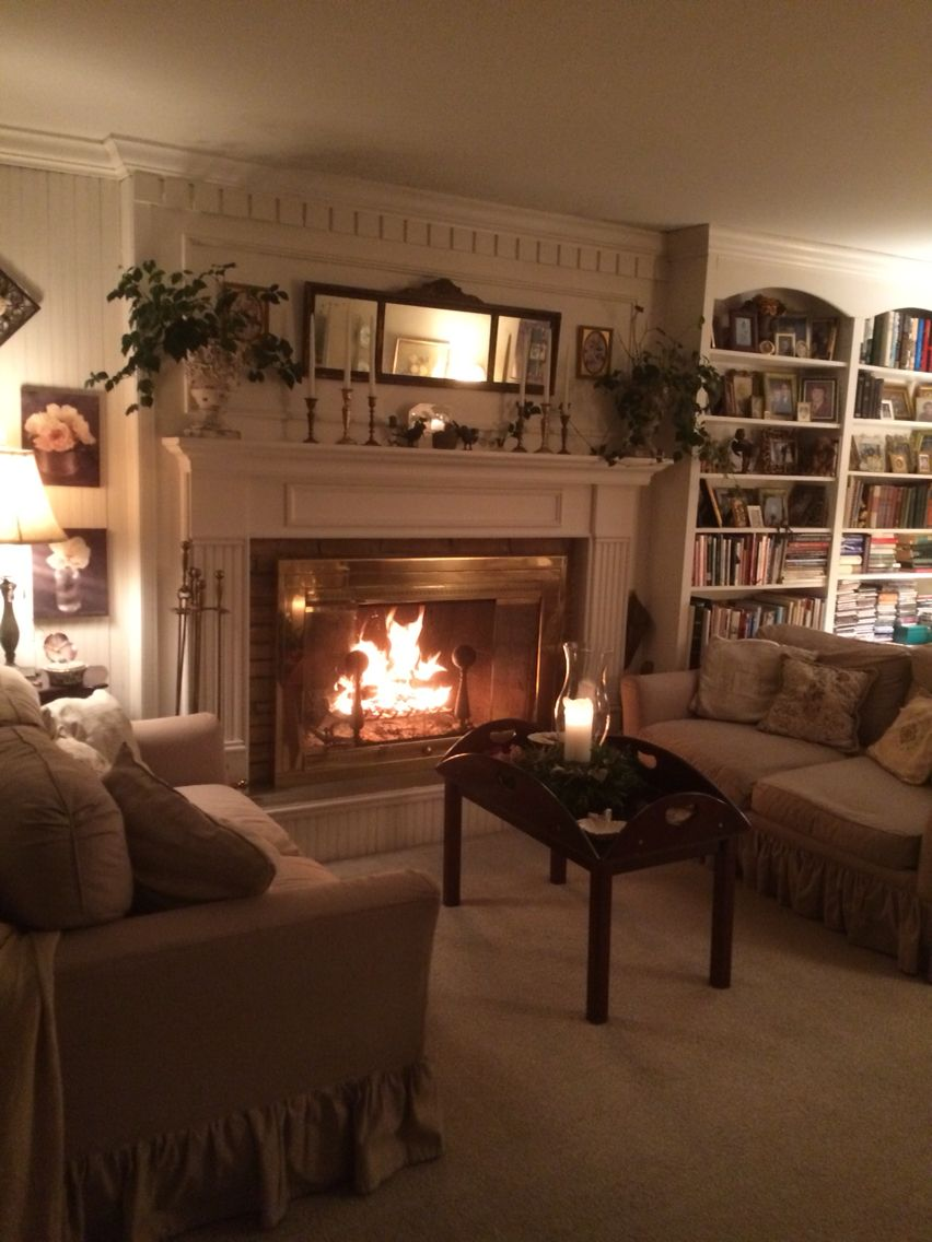 I Love The Built In Bookcases Living Room Decor Traditional