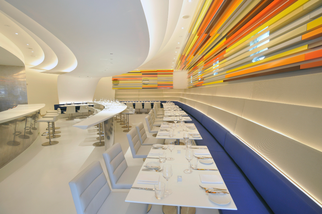 Solomon R. Guggenheim Museum's Frank Lloyd Wright-designed building, New York City's newest restaurant The Wright opened to the public last December. Named in honor of the great American architect,…