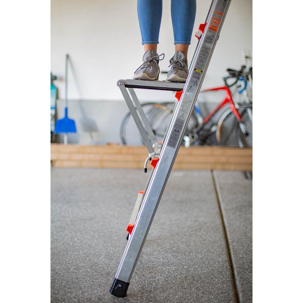 Little Giant Work Platform In 2020 Work Platform Little Giants Ladder
