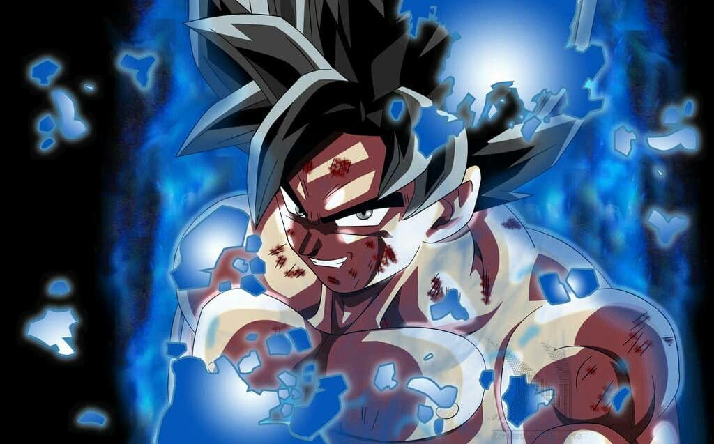 DRAGON BALL SUPER Poster A0 - A2 Son Goku ULTRA INSTINCT