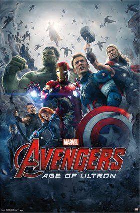 Avengers Age Of Ultron 24x36 Flm13925 Com Imagens Filme