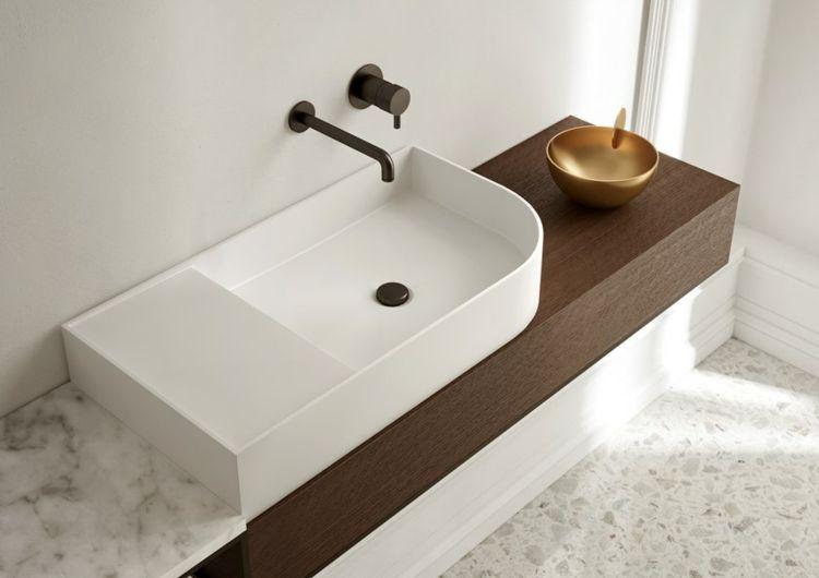 Badschrank Mit Waschbecken Aus Der Nouveau Kollektion Mit