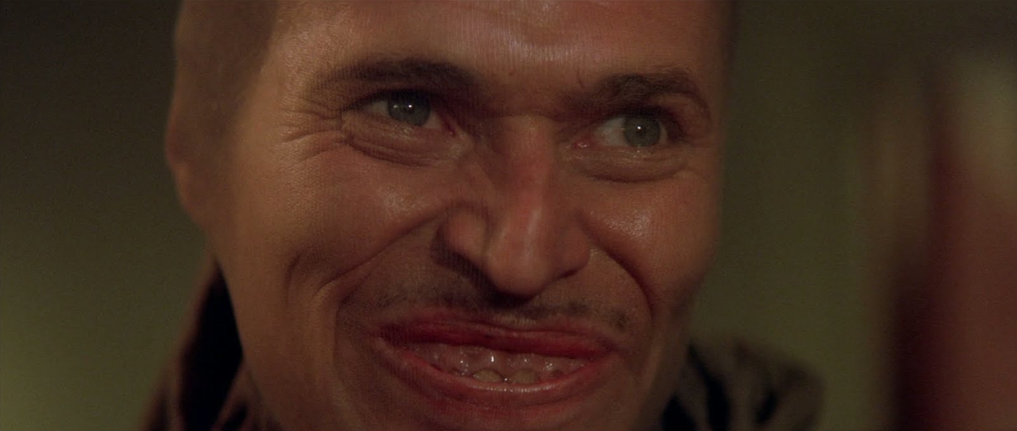 Bobby Peru. One of the creepiest characters in a movie (Wild at heart by David Lynch).