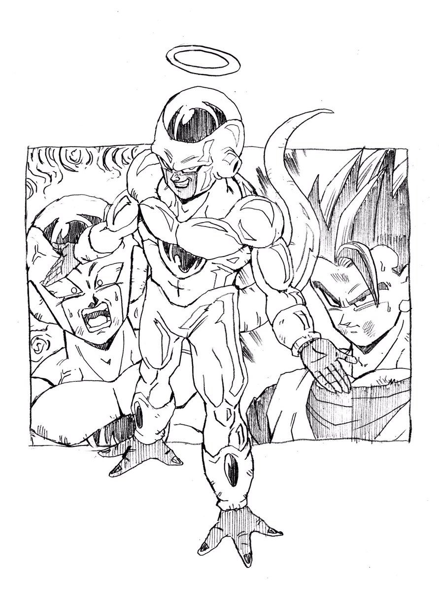 Conjoined Alliance Golden Frieza & Frost vs Mystic Gohan ...
