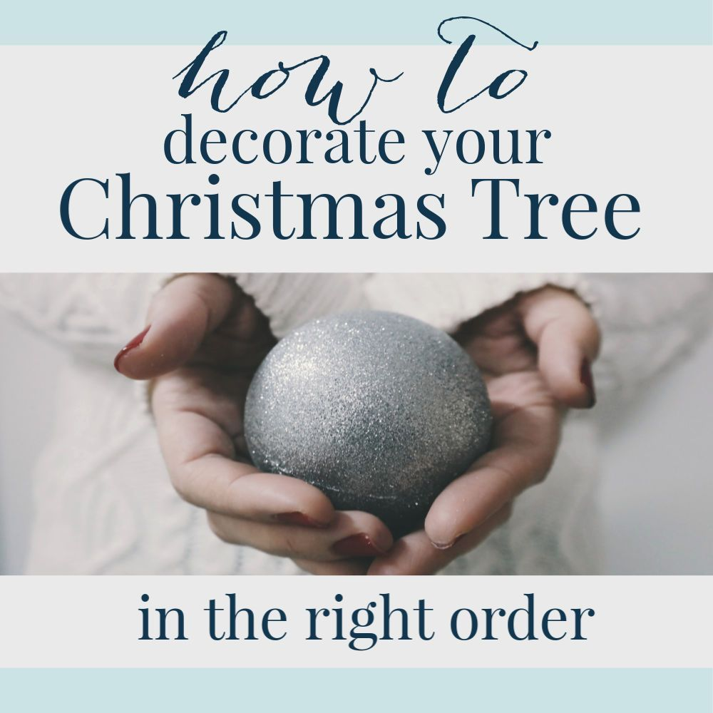 How to Put Ribbon on a Christmas Tree (Tutorial #ribbononchristmastreeideas How to Put Ribbon on a Christmas Tree (Tutorial) - A Pop of Pretty Home Decor Ideas #ribbononchristmastreeideas
