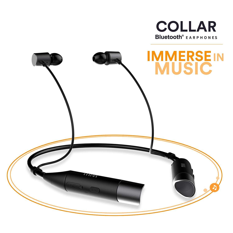Mivi Collar Wireless Neck Band Bluetooth Earphone With Amazon In Electronics Bluetooth Headphones