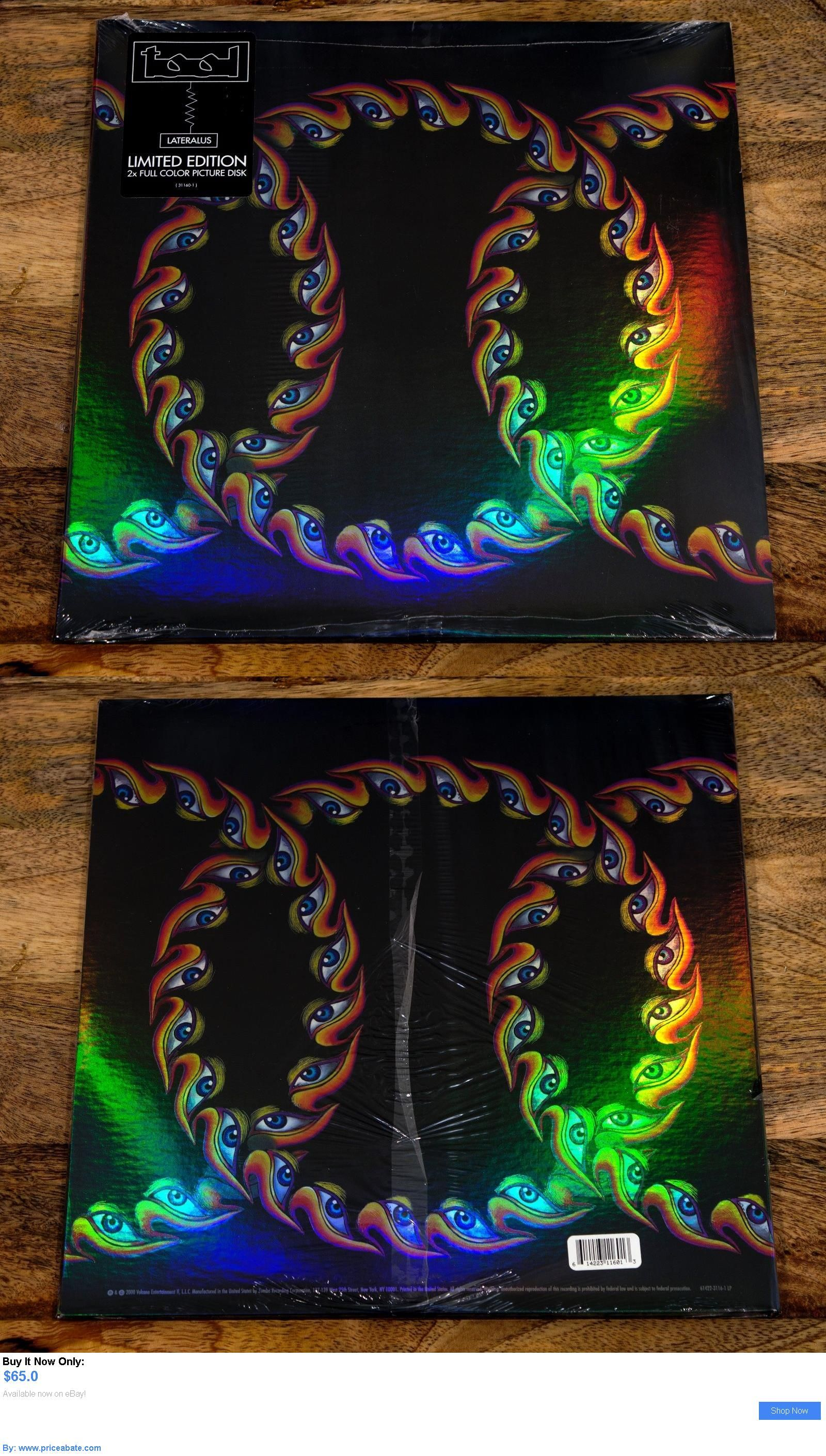 Music Albums: Tool - Lateralus (2 X Lp, Vinyl, 180G Picture