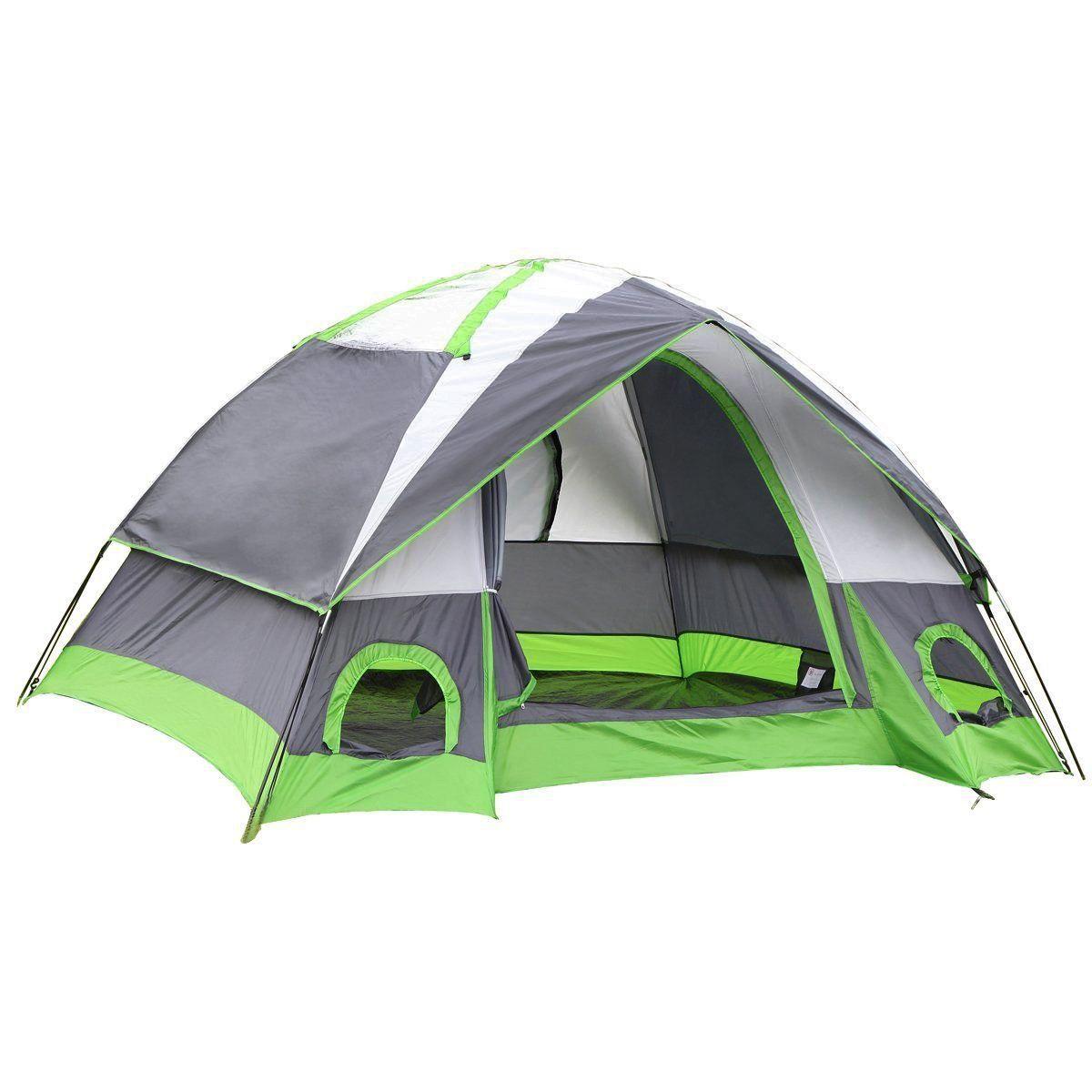 Installation Facile Porte avec Moustiquaire et Couche Rainfly SEMOO Tente de Camping Compacte pour 2 Personnes Id/éale pour Ext/érieur Camping Randonn/ée Trekking