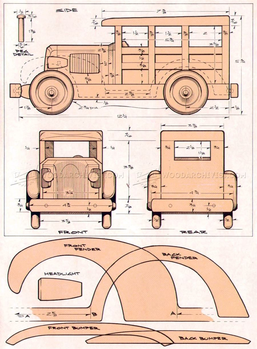 414 woody wagon plans - wooden toy plans | wood carving