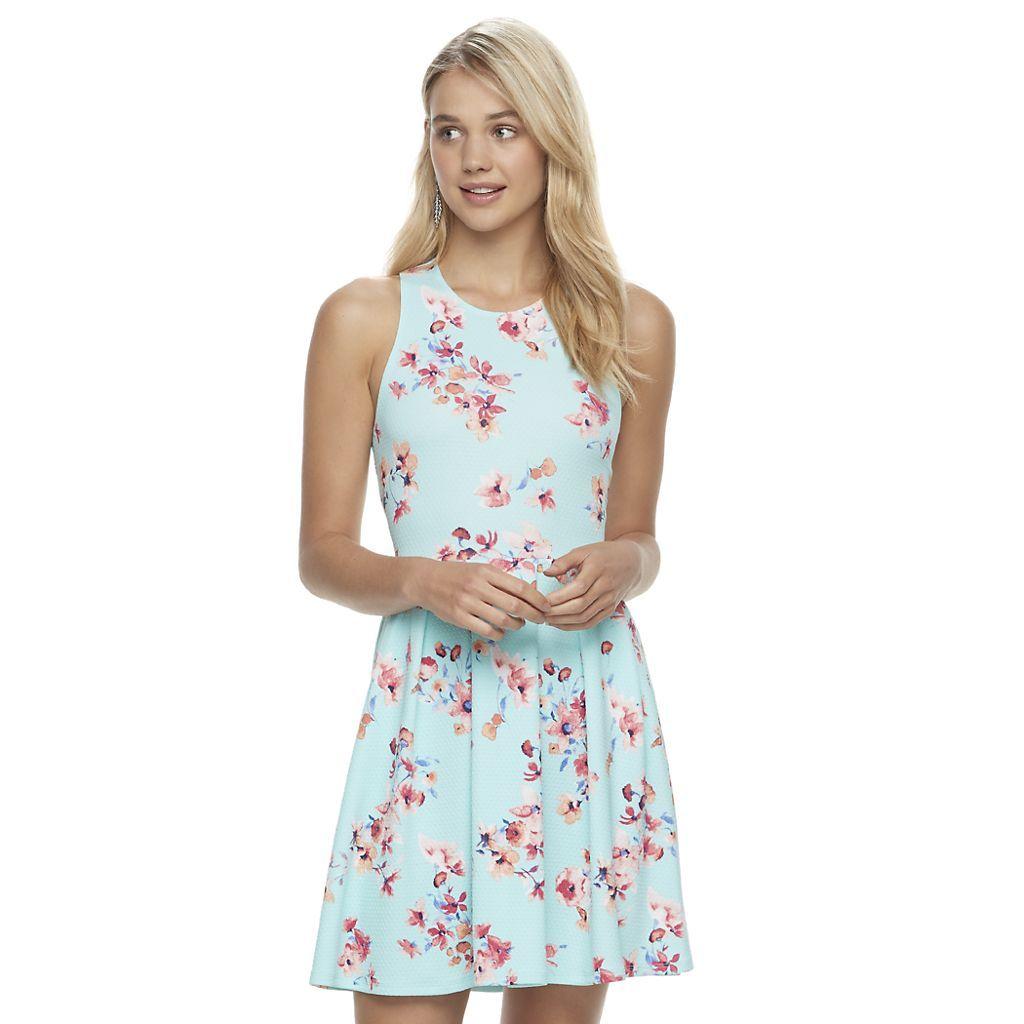Juniors So Textured Floral Skater Dress Kohls Dresses Kohls Dresses Skater Dress [ 1024 x 1024 Pixel ]