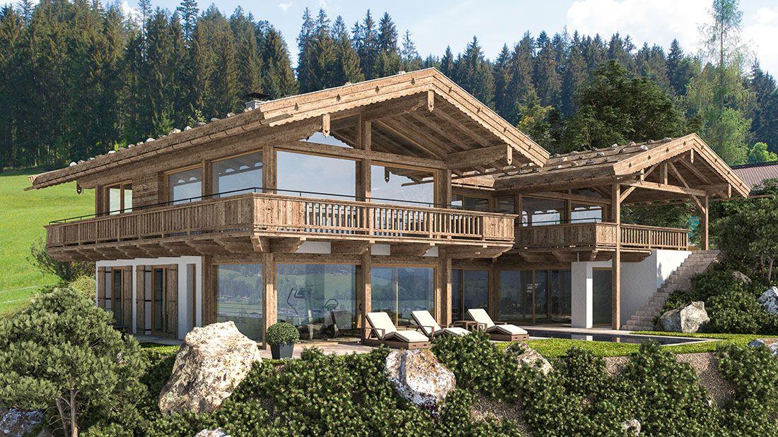 Reith Bei Kitzbuhel Altholz Haus Haus Architektur Haus