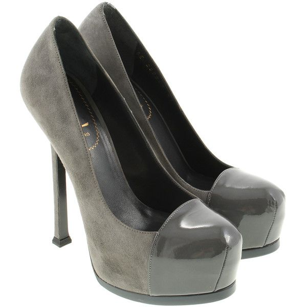Pre-owned - Grey High heel Saint Laurent E5uTwZXb