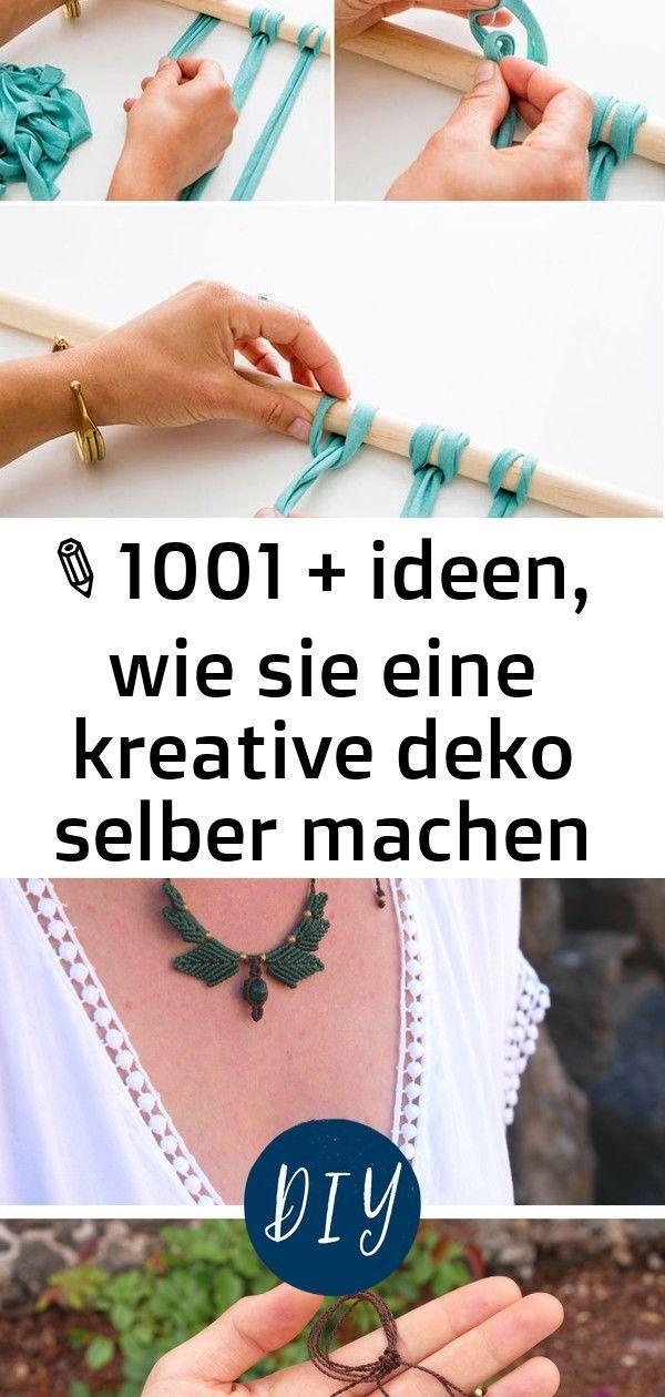 ▷ 1001 + ideen, wie sie eine kreative deko selber machen 26 #wanddekoselbermachen deko ideen wand, makramee flechten, streifen blauer stoff, holzstab Makramee Anleitung | Kette mit Blättern einfach selber machen - Folge   meiner Schritt für Schritt Anleitung, um dir diese elegante und   zauberhafte Kette mit Malachit zu knoten. Diese kostenlose Video   Anleitung ist auch für Anfänger geeignet. DIY Wanddeko selber machen: Einfaches Makramee Wall Hanging #diydeko #wallhanging #wanddeko #makr #wanddekoselbermachen