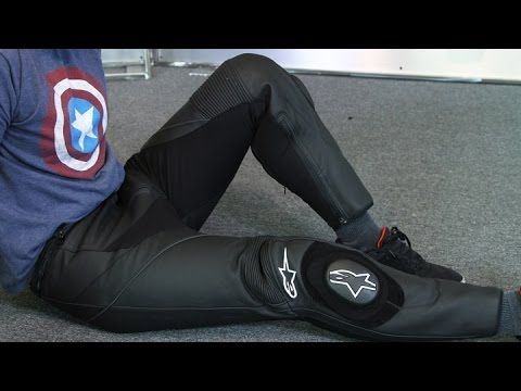 2f6415ce82c9 Alpinestars Missile Leather Pants from Motorcycle-Superstore.com - YouTube