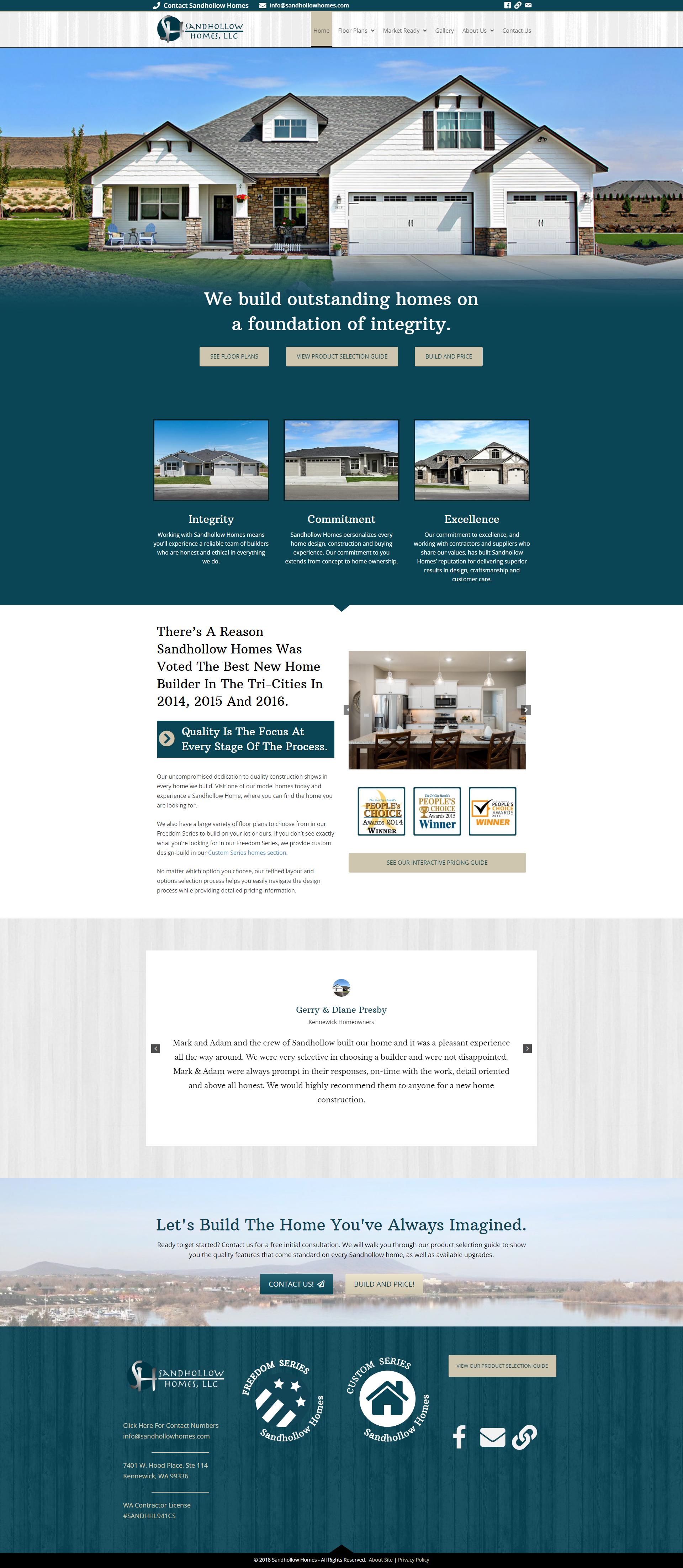 Construction Website Designs In 2020 Real Estate Website Design Real Estate Web Design Portfolio Web Design