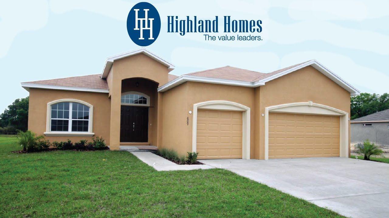 Youtube Westin Homes Highland Homes Florida Home