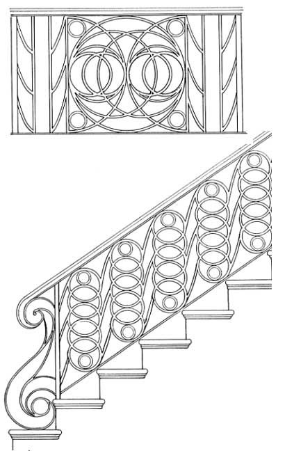 stair railing designs isr022