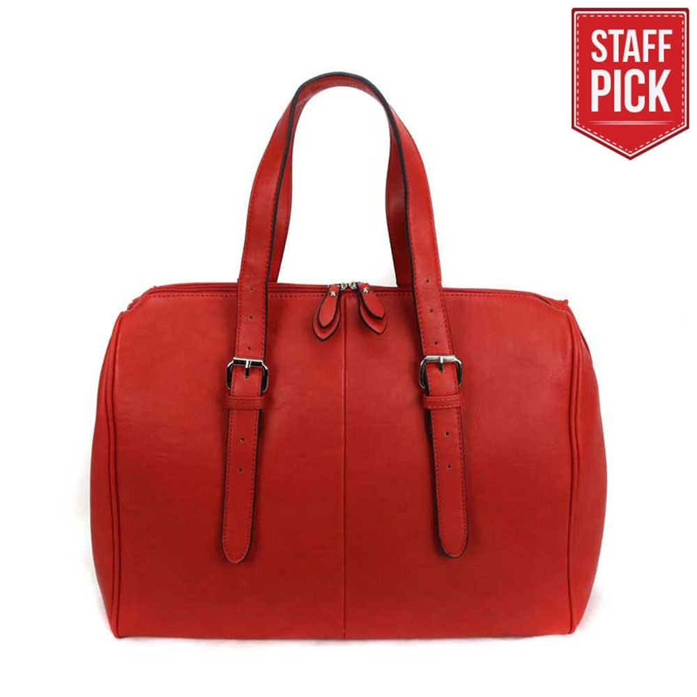 Classic Raspberry Temple Bag | Temple Bags on LDSBookstore.com (#LDP-DBRTP02RED)