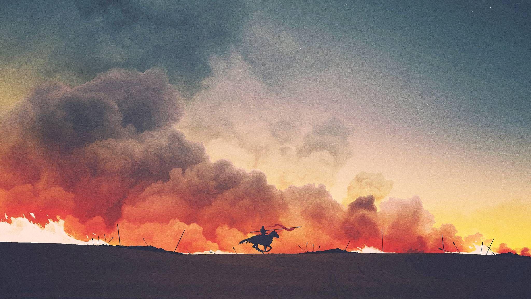 Jaime Lannister Aesthetic Wallpapers Game Of Thrones Art Horse Illustration
