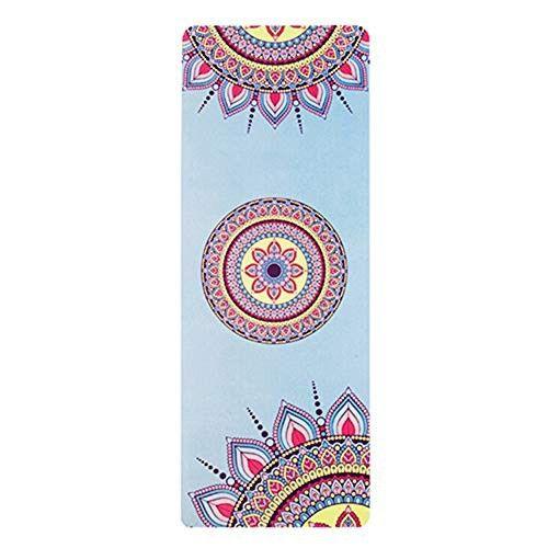 QQVS Non-Slip Suede Rubber Yoga Mat 183X68Cm 3.5Mm Color ...