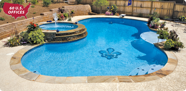 New Orleans Custom Swimming Pool Builders Blue Haven Pools Concrete Pool Pool Builders And