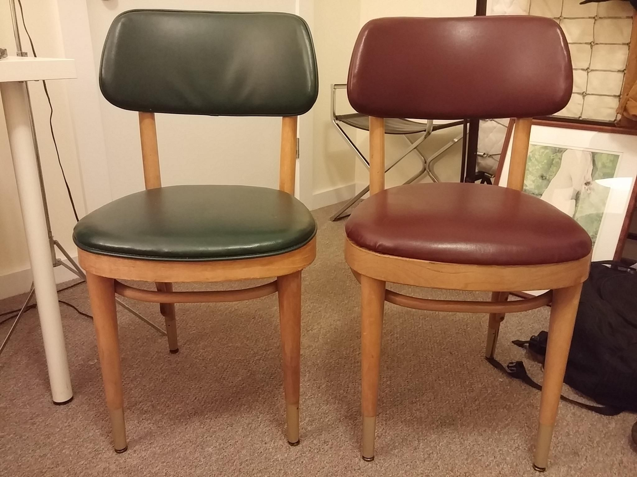 Picked up a couple Thonet chairs. Anyway have any idea of their value? Thanks!