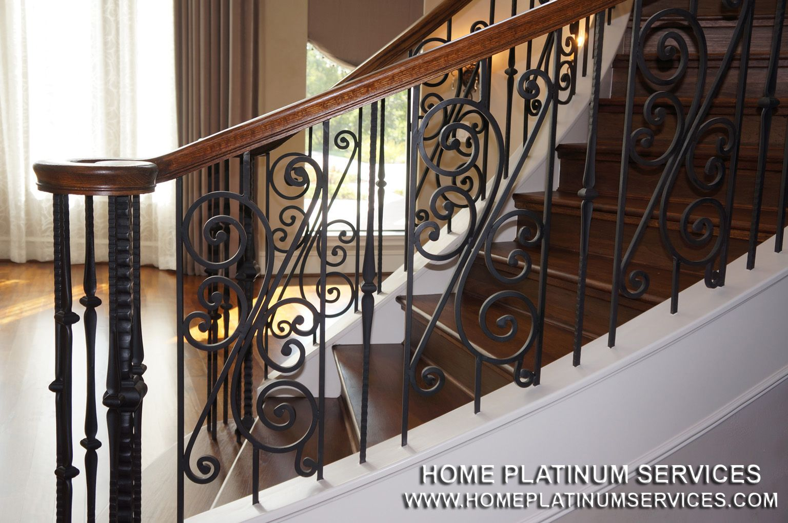 Wrought Iron Staircase Designs Wrought Iron Staircase Frisco Tx Home Remodeling