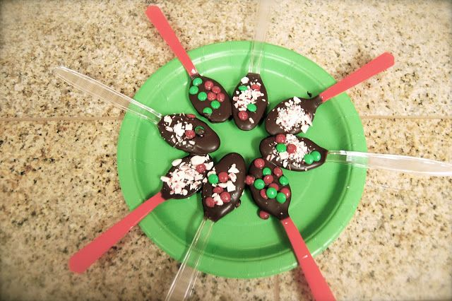 The Jones Way...  Hot chocolate spoons, click on the link to see directions for a super fun activity with kiddos! Or if you just want an awesome spoon to stir some hot chocolate with :)