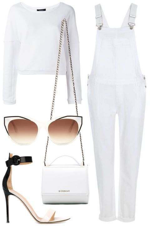 14 all white summer outfit ideas to shop now: