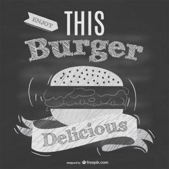 Tafel-Restaurant Fast-Food-Menü | logo | Pinterest | Kreidetafel ...