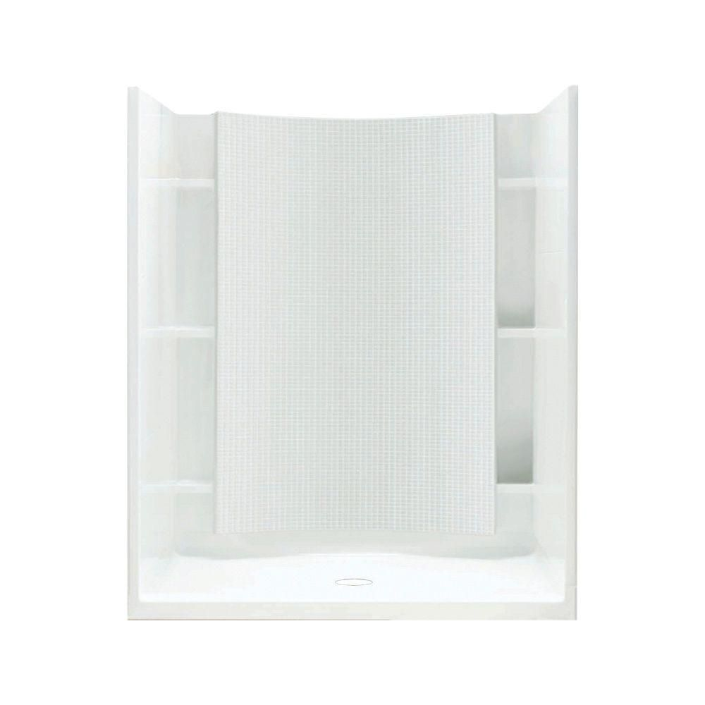 Sterling Accord 37 1 4 In X 48 In X 77 In Shower Kit With Age