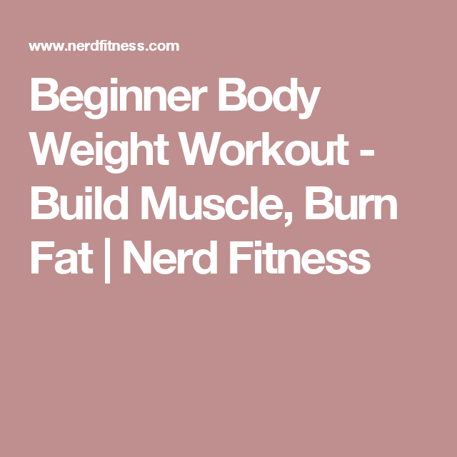 how to build fitness beginners