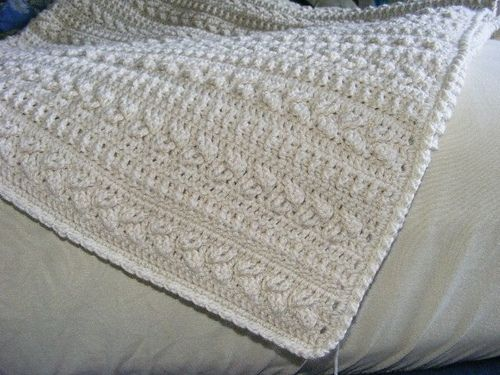 Patterns Winter Warmers Afghan In White Great Texturewould Make Nice Wedding Gift