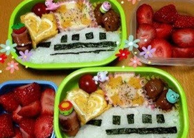 Charaben Easy Shinkansen (Bullet Train) Recipe -  I think Charaben Easy Shinkansen (Bullet Train) is a good dish to try in your home.