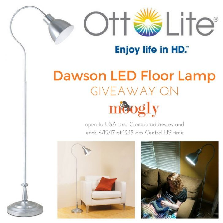 Ottlite Dawson Led Floor Lamp Giveaway With Images Led Floor Lamp Diy Floor Lamp Giveaway